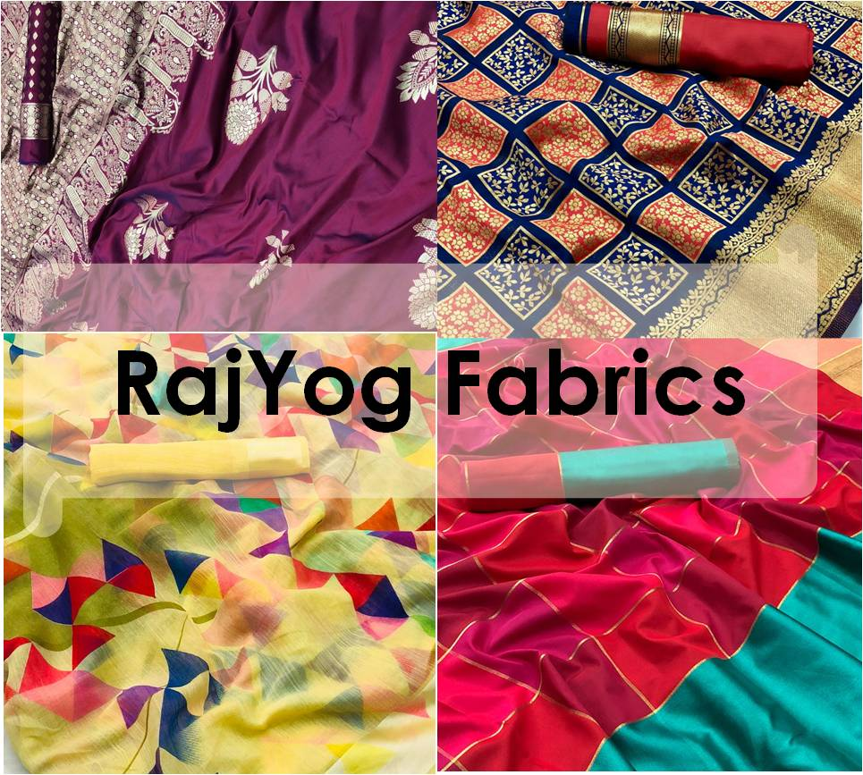 Shop Indian Sarees RajYog Fabrics Online